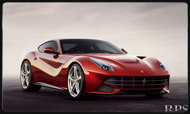 F12 Berlineta car rental Monaco