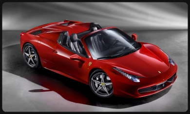 rent F458 Spider  Saint-Tropez