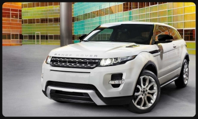 rent Evoque  Barcelone