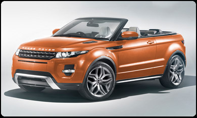 rent Range Evoque Cab  Barcelone