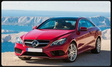 E350 Coupe hire Cannes