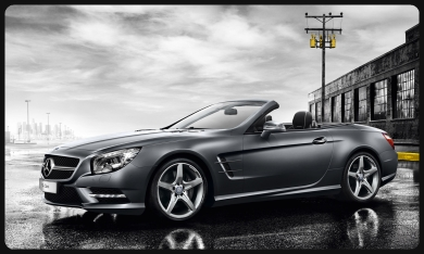 SL500 for rent nice