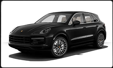 rent Cayenne Turbo 2018  Nice-airport